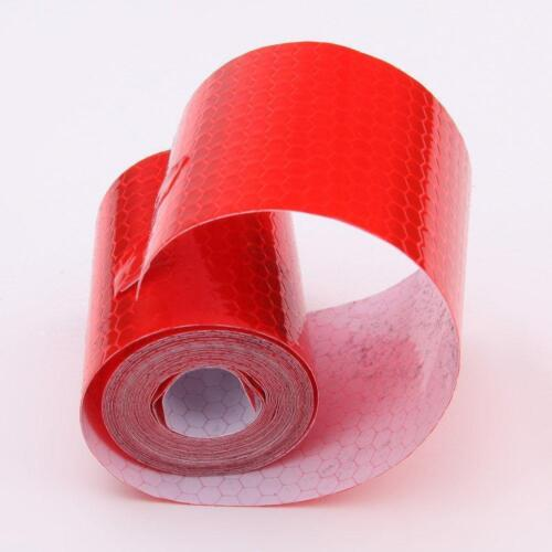 9.8ft Car Truck Reflective Safety Warning Conspicuity Roll Tape Film Sticker