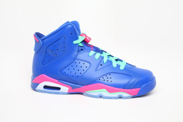 release date: 44a07 f7439 Nike Air Jordan Retro 6 VI Game Royal GS Size 7youth 543390-439