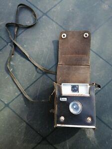 C2T3 Appareil photo ancien Kodak Brownie Starlet II CAMERA avec étui protection