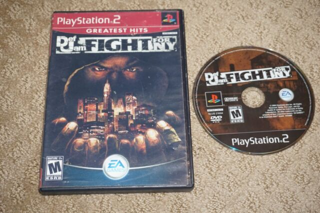 Def Jam: Fight For Ny Greatest Hits (Sony Playstation 2 ps2)