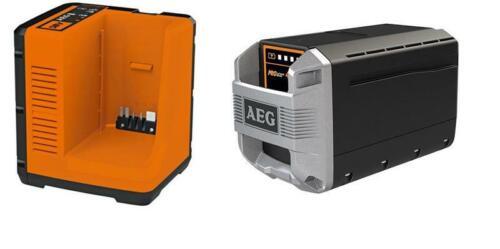 AEG AC50SP401 50V 4,0Ah Lithium ion Akku und Ladegerät Set