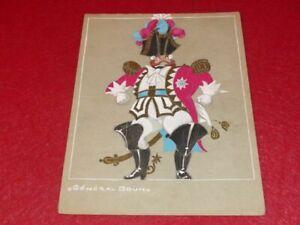 Art-Deco-Suits-Raymond-Fost-Offenbach-Large-Duchess-1948-Gouache-Genuine