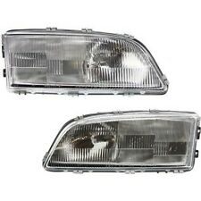 Headlight Set For 98 2002 Volvo V70 98 2000 S70 Left Amp Right Side With Bulb Fits Volvo
