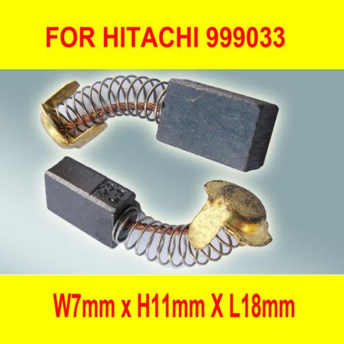 Carbon Brushes For Hitachi 999033 Planer Saw SAT-180 SP-18T PSB-7 PSU-6 PS-6A AU
