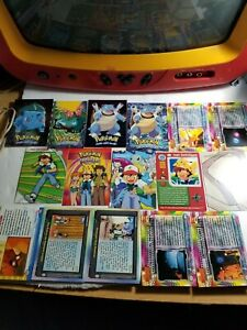 Lot of 16 Topps Pokemon Cards w/ Holos, First Movie, and ...