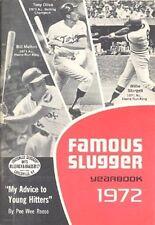 1972 LOUISVILLE SLUGGER FAMOUS SLUGGER YEARBOOK (STARGELL CVR, KOUFAX/BERRA HOF+