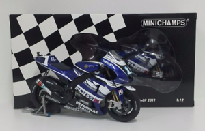MINICHAMPS-BEN-ESP-AS-1-12-MODELO-YAMAHA-YZR-M1-MOTOGP-2011-L-E-504-4PCS-NEW