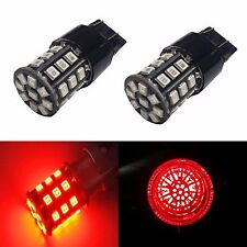 JDM ASTAR 2x 33-SMD Red 7443 7440 High Power AX-2835 LED Brake Tail Lights Bulbs