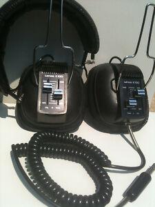 Lenco-K-100-Headphones-Stereo-double-linear-volume-Collector-Edition-Switzerland