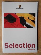 PORSCHE CLOTHING & GIFT ACCESSORIES orig 1997 UK Mkt Sales Brochure