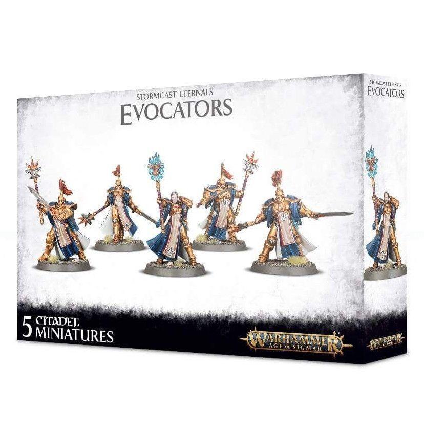 Games Workshop Warhammer Age of Sigmar Stormcast Eternals Evocators
