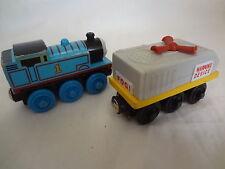 Wooden Thomas the Train Fog Horn Car and Thomas # 1