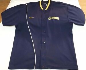 California Bears Cal Berkeley Nike Sports basketball shooting shirt men sz 2XL