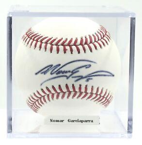 Nomar-Garciaparra-Dodgers-Red-Sox-Cubs-A-039-s-Autographed-ROMLB-Baseball-PSADNA-COA