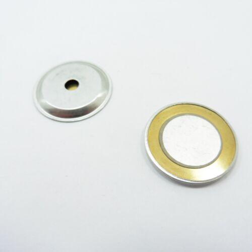 27mm Aluminum Cover Transducer Piezo Elements Disc Buzzer Sounder Sensor Copper