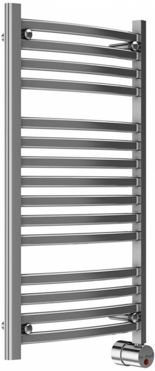 Mr. Steam 13 Bar Wall Mounted Electric Heated Towel Warmer with Digital Timer