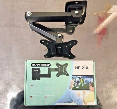 """Full Motion TV Wall Mount Tilt Swivel For 10"""" - 27"""" inch LED LCD OY"""