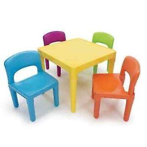 Tot Tutors Plastic Table and 4503 Chair Set TC911 | eBay