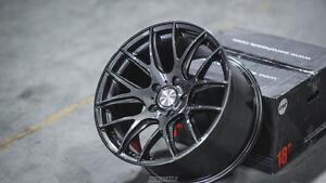 18x8-5-35-5x120-ESR-SR12-Gunmetal-Wheels-18-034-For-BMW-E36-M3-Set-4-Rims