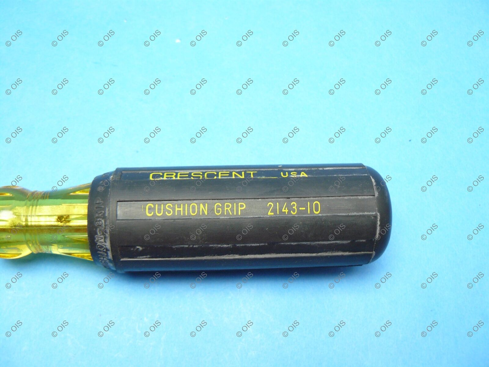 """Crescent 2143-10 Cushion Grip Slotted Screwdriver 3//8/"""" Tip x 10/"""" Long Round"""