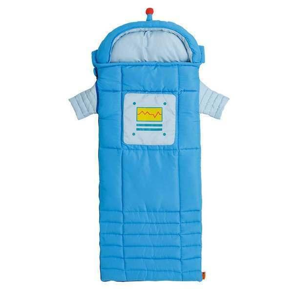Sparky The Robot Sleeping Bag Kid/'s 62x24 Inches Ozark Trail 30557