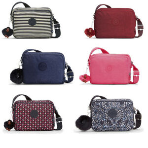 Image is loading Kipling-Silen-Zip-Top-Shoulder-Bag-5-Colour- a3a99ba415