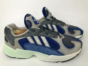 Perforar Helecho casado  Adidas Yung 1 Originals- Mens- Size 11- Alpine- Blue Green- [AQ0902]-  Running   eBay