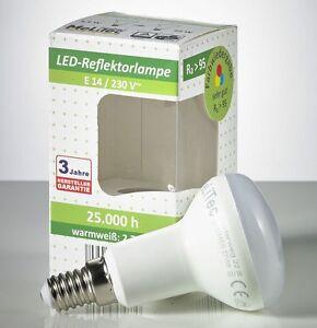 5 st ck led reflektorlampe 6 watt e14 ra95 strahler lampe leuchtmittel r50 l90 1 ebay. Black Bedroom Furniture Sets. Home Design Ideas