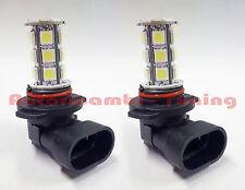COPPIA LAMPADE LAMPADINE HB4 9006 FENDINEBBIA 18 LED 5050 SMD LUCE BIANCA 6000K