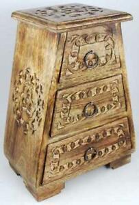 Celtic Triquetra Altar Cupboard for Herbs, Altar Tools, Etc.!