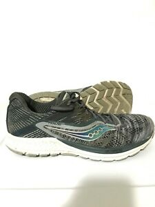 Saucony-Ride-10-Mens-Running-Shoes-Sneakers-Gray-Size-9-5