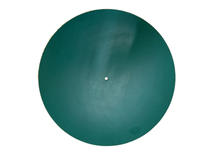 Gut Special (240mm O.d.) Green Epdm Rubber Turntable Mat 3mm Thick