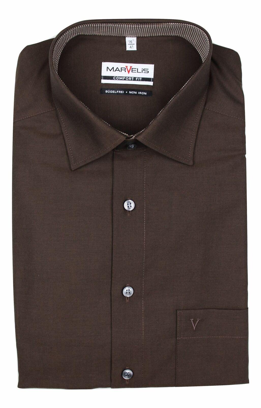 Brown Contrast Spread Collar