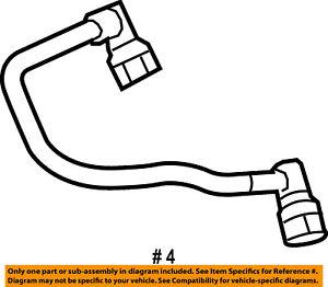 ford oem 11 17 f 150 5 0l v8 emission vent hose br3z6a664a ebay 1957 Ford V8 image is loading ford oem 11 17 f 150 5 0l