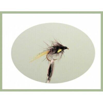 Dry Fishing flies 6 x Claret Bobs Bits Bobs Bits Trout Flies Choice of sizes