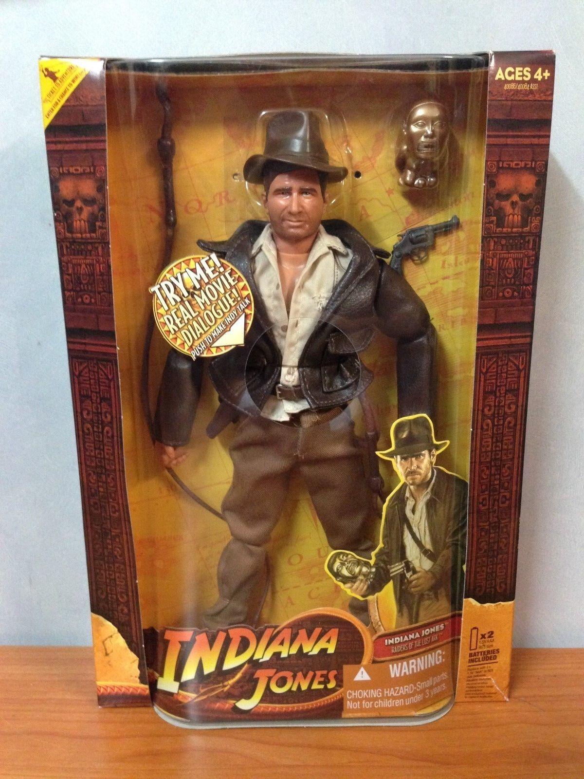 Indiana Jones Raiders of the Lost Ark electrónica de 12 Pulgadas Figura De Acción-Y en Caja Sellada