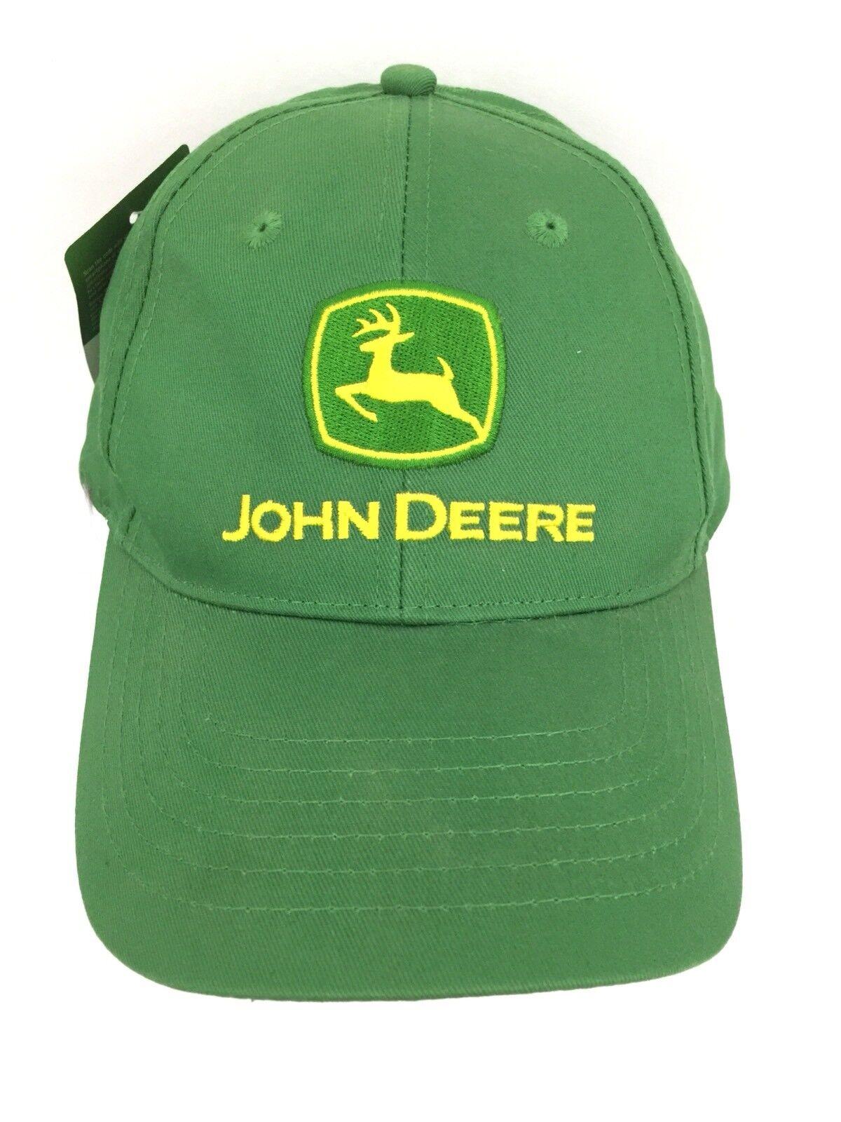 b0797952eec ... store john snapback deere hat logo cap snapback john baseball spell out  embroidered trucker green cb673c