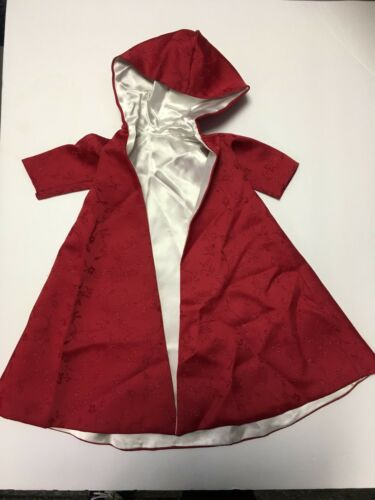 Red Doll Cape w Hood By Mary Beyer
