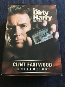 The-Dirty-Harry-Series-DVD-2001-5-Disc-Set-The-Clint-Eastwood-Collection