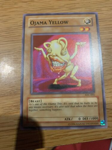 IOC Yugioh! Common Ojama Yellow
