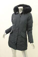 a625ad5033d Woolrich John Rich & Bros W's Military Parka Silver Fox Fur Size S ...