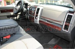 Dodge Ram 1500 2500 3500 Sle Slt Interior Wood Dash Trim