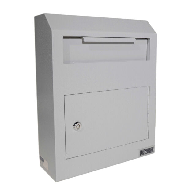 NEW Wall Mount Locking Deposit Drop Box Safe FREE SHIPPING