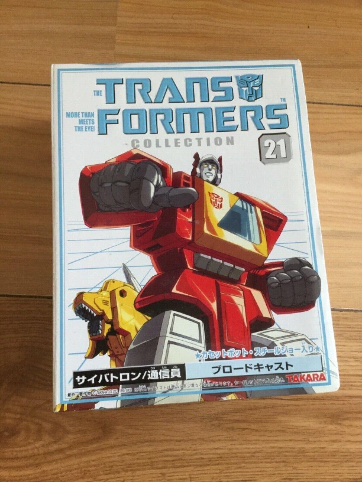 Transformers G1 Takara Book Collection 21 Blaster in box