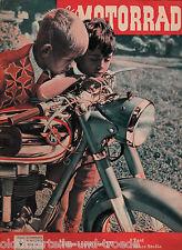 Das Motorrad Heft 9 Mai 1954 Test Mars Stella Führerschein IV Zylinderabnehmen