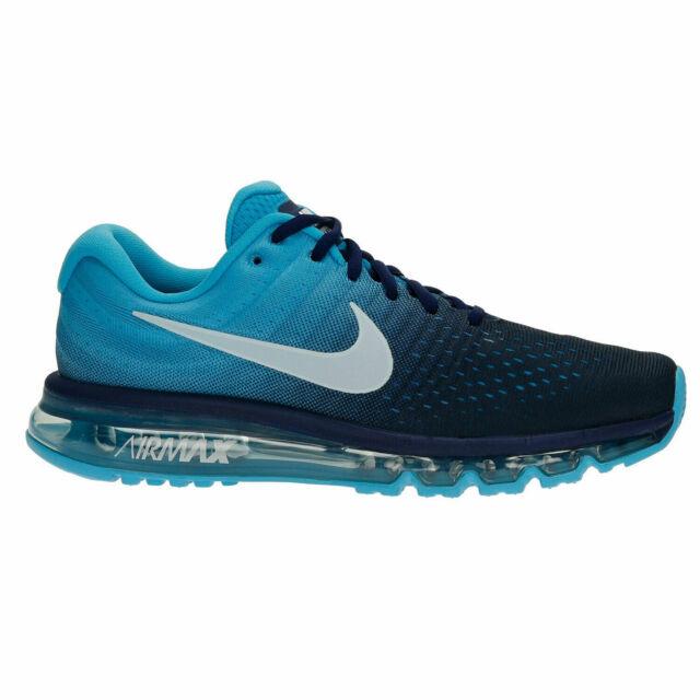 Nike Air Max 2017 Men's Running Shoes Binary Glacier Blue (849559 404)