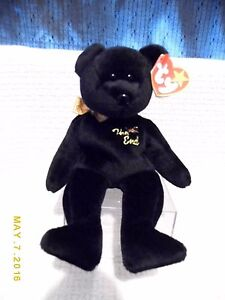 bf0fedebfdd Image is loading TY-BEANIE-BABY-034-THE-END-034-BEAR-