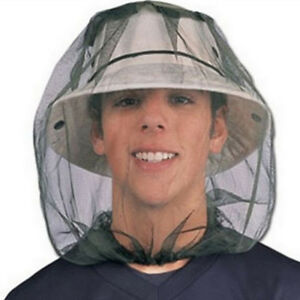 Beekeeping-Beekeeper-Face-Head-Guard-Cowboy-Hat-Mosquito-Bee-Insect-Net-Veil