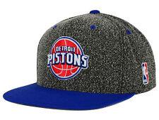 "RETRO Mitchell & Ness NBA Detroit Pistons ""Static"" Snapback Cap , Adjustable Hat"