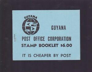 1981-Guyana-AIR-FISH-1-amp-50-Stamp-Set-2-blocks-of-4-stamps-K-936